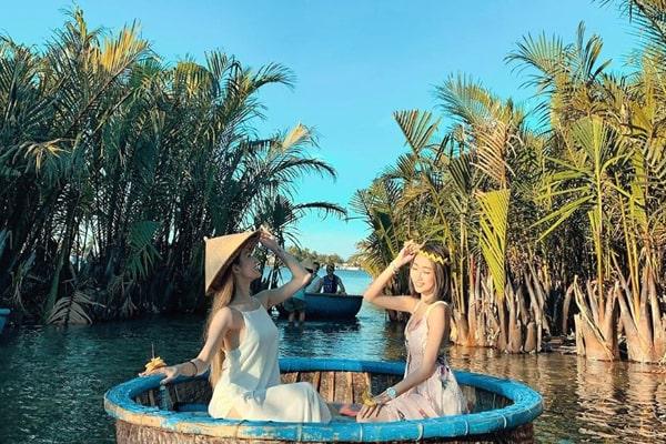 Ngày 2: Hội An - Rừng Dừa Bảy Mẫu - Hội An - Biển Cửa Đại (Ăn: Sáng, Trưa, Tối)